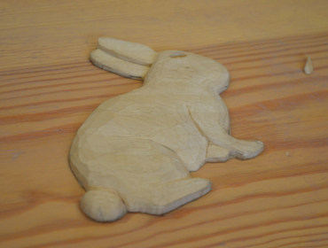 Woodcarving for Easter