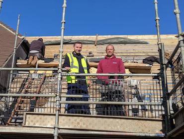A week in the life of a Trainee Collyweston Slate Roofer